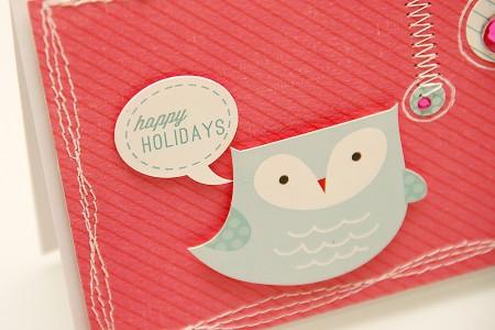 Листівка Happy Holidays для Арт Уголка