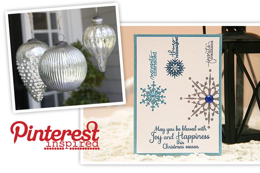 Новорічні листівки: Inspired by Pinterest. День 2