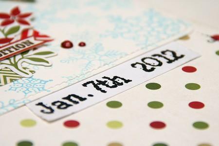 Сторінка Happy Holidays для Арт Уголка зі штампами Stampendous