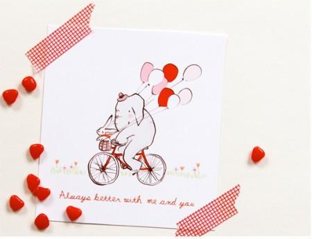 Листівки до дня Валентина. Inspired by Pinterest #12: Valentine Edition