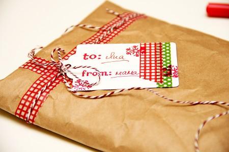 Загортаємо новорічні подарунки