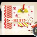 Листівка Believe за скетчем від Northridge Publishing
