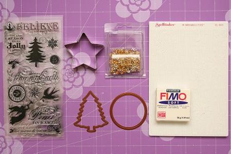 Ялинкові прикраси із пластики Fimo
