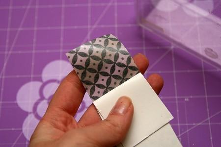 Реорганізація скрап куточка: контейнери, прикрашені паперовим скотчем washi tape