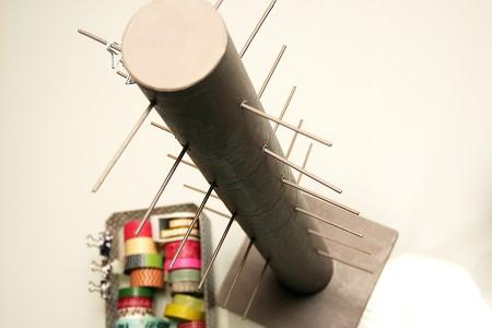 Реорганізація скрап куточка: підставка для паперового скотчу