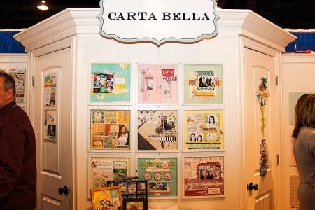 Виставка CHA Winter 2013. День 2 – У кімнатці Carta Bella. Нові картки для журналінгу