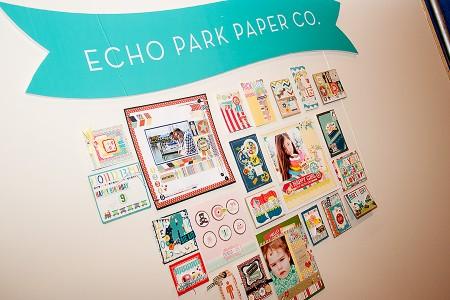 Виставка CHA Winter 2013. День 2 – У кімнатці Echo Park. Новий паперовий скотч
