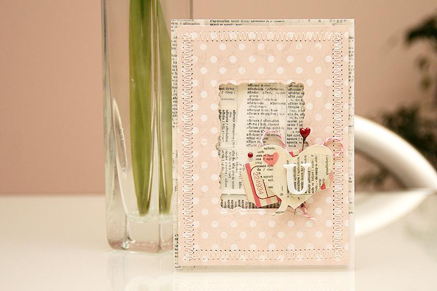 Як зробити листівку до Дня Закоханих. Майстер клас