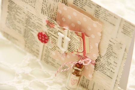 Марафон листівок до Дня Закоханих: Листівка із посланням у пляшці