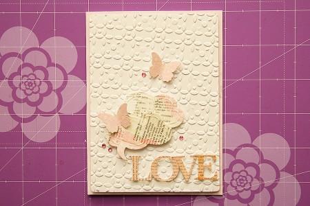 Марафон листівок до Дня Закоханих: Листівка Love
