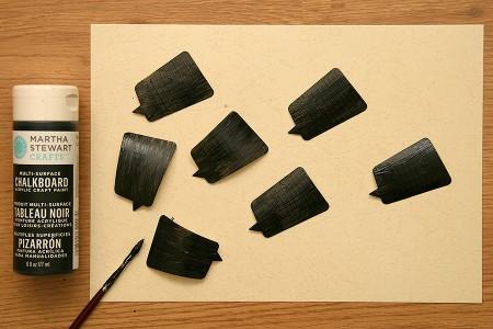 Таблички для сиру за допомогою ножів Spellbinders та зубочисток