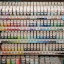 Виставка CHA Winter 2013. Plaid. Детально про універсальні фарби та фарби для скла від Marth Stewart Crafts