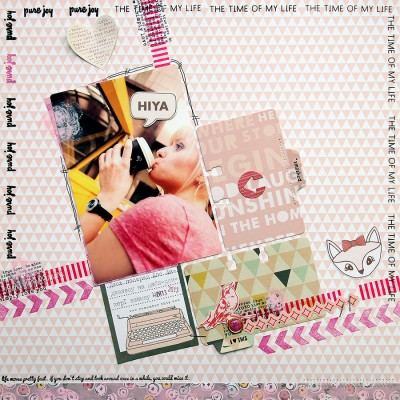 Layout Monday #2: HIYA