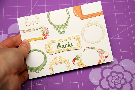 Clean & Simple Die Cutting #4