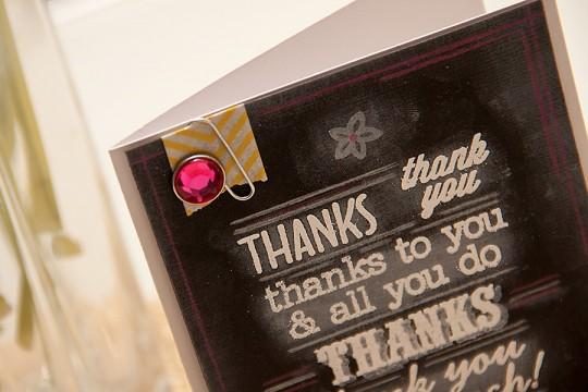 Листівка із дошкою з імітацією крейдового напису. Inspired by Pinterest #27