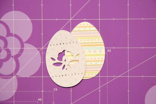 Листівки до Великодня своїми руками. Великодня листівка з яйцем