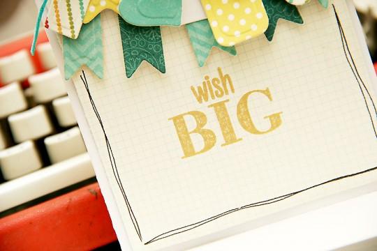Листівка до Дня Народження Wish Big