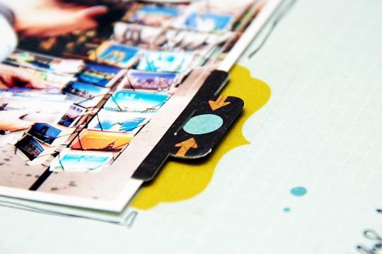 Art Ugolok Layout #33: Postcard Shopping