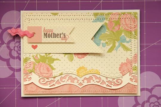 Листівка до Дня Матері Happy Mother's Day