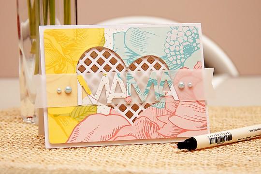 Листівка до Дня Матері. Inspired by Pinterest #28