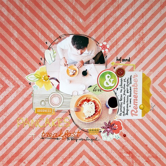 Сторінка для Арт Уголка №35 Бліни на сніданок