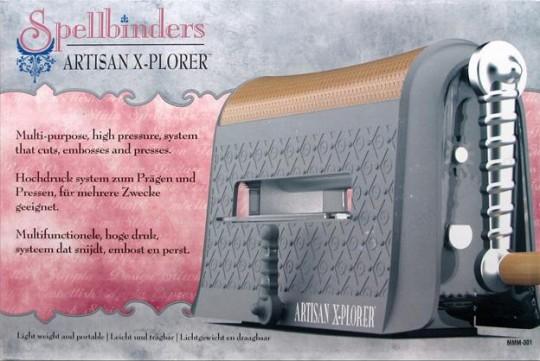 Нова машинка Artisan X-plorer від Spellbinders вже доступна!