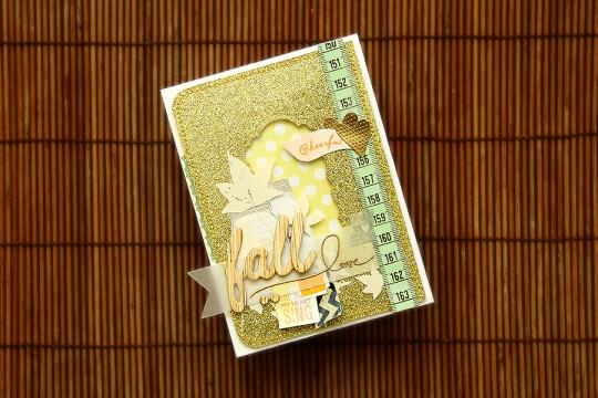 Осіння листівка | Fall in Love Card