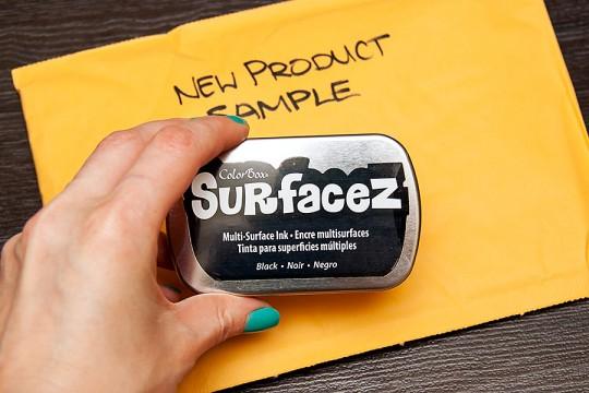 Тестуємо нове чорнило Surfacez™ від ClearSnap