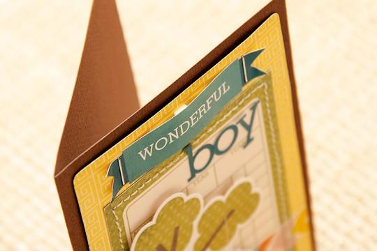 Листівка для хлопчика Wonderful Boy