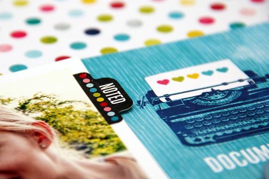 Сторінка Hi, Lets Snap a Photo із колекції Here & Now від Echo Park
