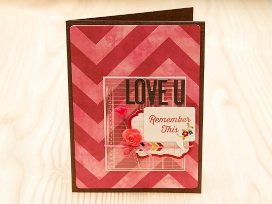 Листівка щомісяця: Love U