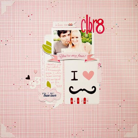 Сторінка для Арт Уголка №38 CLBR8