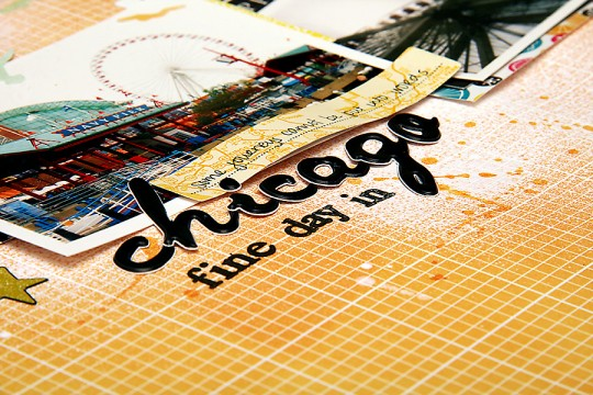 Layout Monday #13: One Fine Day in Chicago