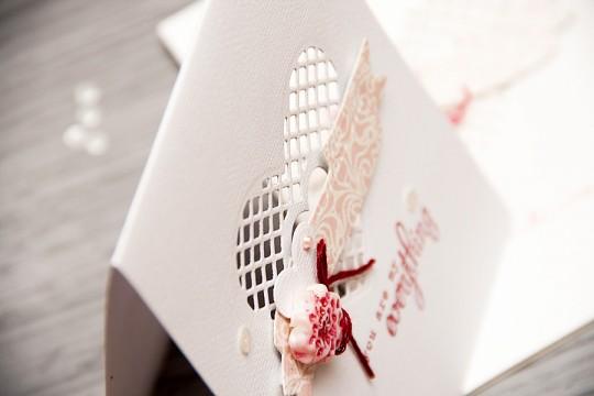 Clean & Simple Die Cutting #12: Романтична листівка (або ж запрошення). Відео