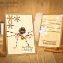 Новорічні листівки разом: Прості та швидкі листівки у стилі Clean & Simple