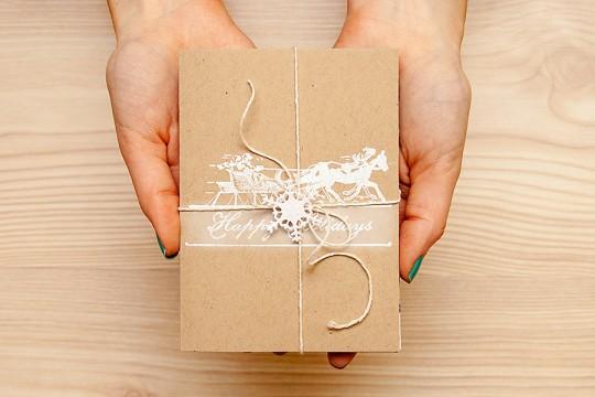 Новорічні листівки разом: Набір вітальних новорічних листівок в упаковціНоворічні листівки разом: Набір вітальних новорічних листівок в упаковці