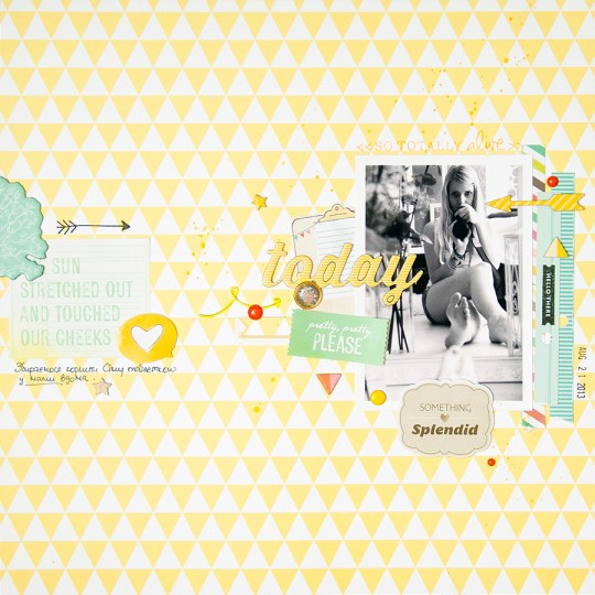 Layout Monday #15: Today