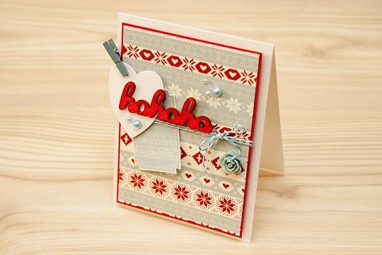 Листівка щомісяця: Новорічна Ho Ho Ho