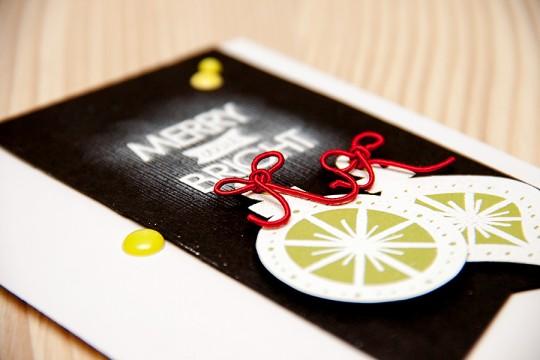Листівка Merry & Bright для Neat & Tangled. День 4