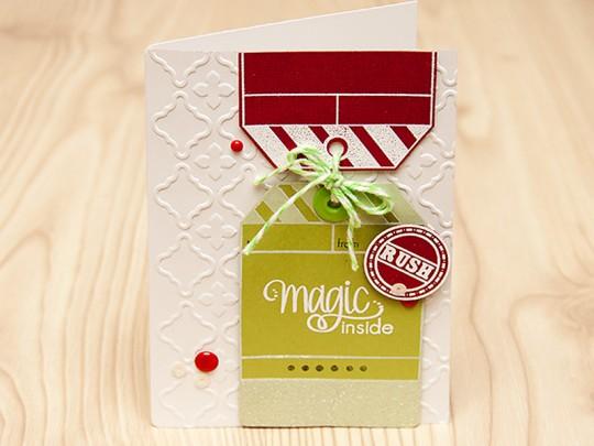 Листівка Magic Inside для Neat & Tangled. День 2