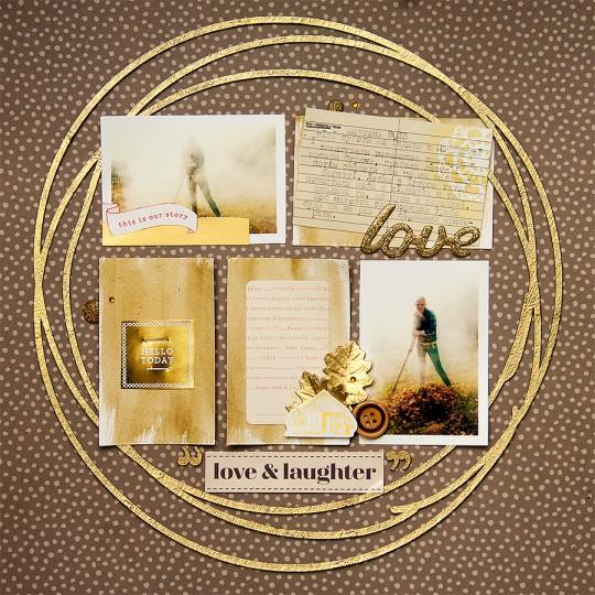 Сторінка для Арт Уголка №42 Love & Laughter