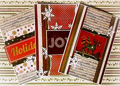 Новорічні листівки разом: кращі роботи (частина друга)