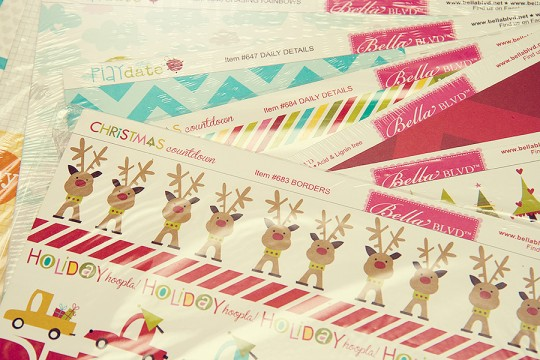 Новорічні листівки з Bella BLVD (і трішки про цього виробника)