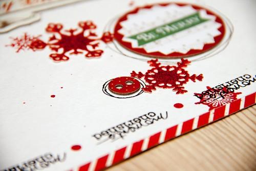 Layout Monday #20: Сторінка Merry Christmas (знову з печивом)