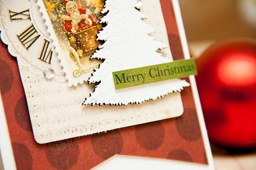 Новорічні листівки разом із Blue Fern Studios (Частина друга)