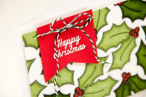 Майстерня різдвяних листівок 2013 | Основи штампування. Виготовлення фону за допомогою штампів. Не таке просте хаотичне штампування