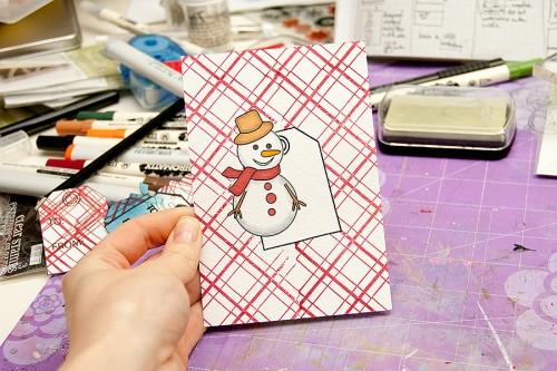 Майстерня різдвяних листівок 2013 | Маскування для поєднання двох і більше зображень в одній площині