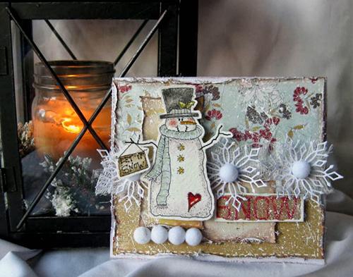 Завдання #32. Листівки зі сніговиками! Додано результати!