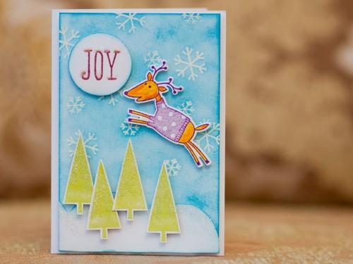 Майстерня різдвяних листівок - кращі роботи, призи активним учасникам!