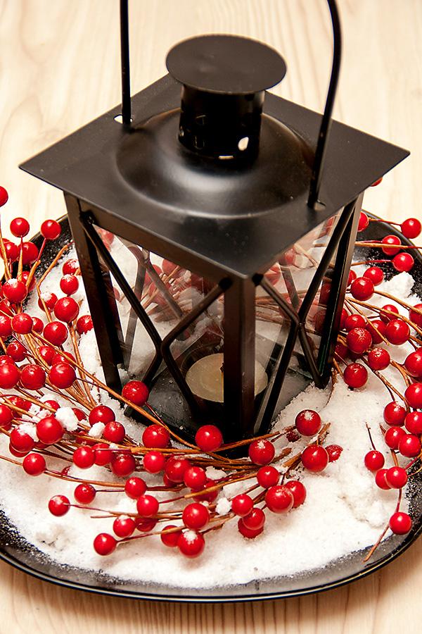Як зробити новорічну композицію на стіл